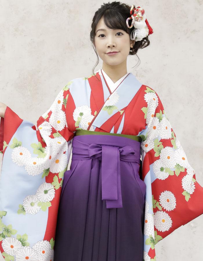 卒業式 袴 袴セット 女 二尺袖着物 ミサヤマ ブランド 袴7点セット 32 大学生 短大生 小学生販売 購入