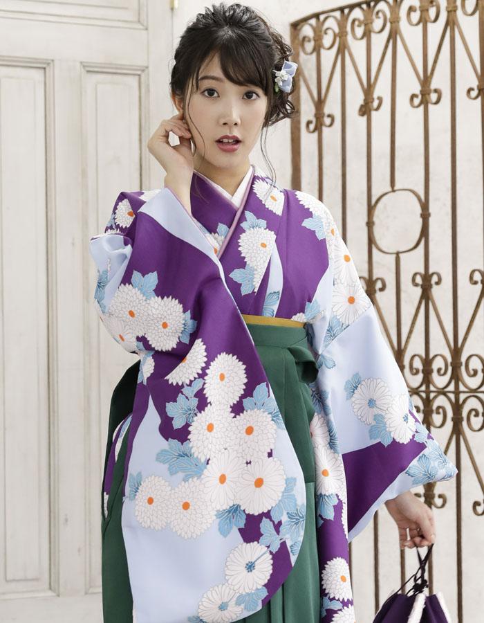卒業式 袴 袴セット 女 二尺袖着物 ミサヤマ ブランド 袴7点セット 35 大学生 短大生 小学生販売 購入