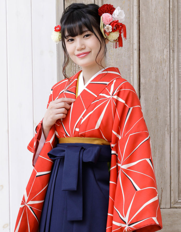 ジュニア販売 女 4 袴セット ミサヤマ 小学生 購入 袴7点セット ブランド 二尺袖着物 卒業式 袴
