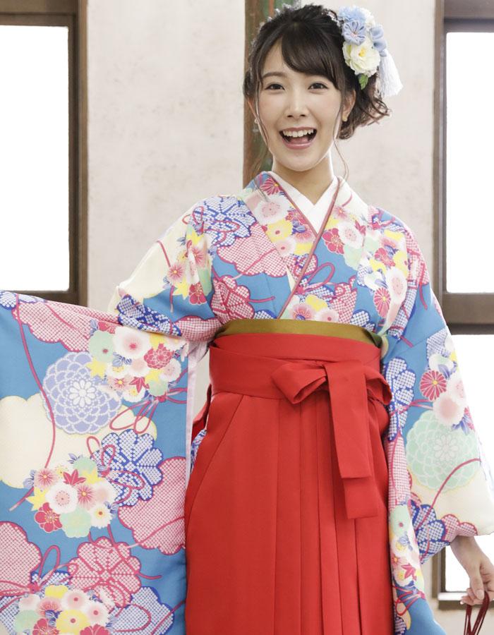 卒業式 袴 袴セット 女 二尺袖着物 ミサヤマ ブランド 袴7点セット 42 大学生 短大生 小学生販売 購入