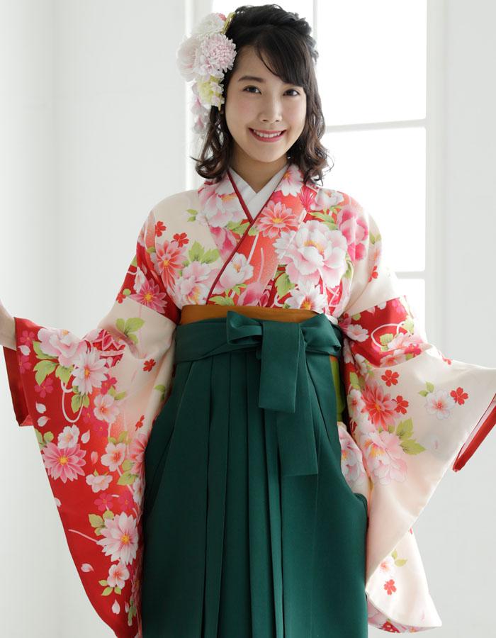 袴セット ミサヤマ 二尺袖着物 ブランド 小学生 卒業式 女 6 ジュニア販売 購入 袴7点セット 袴