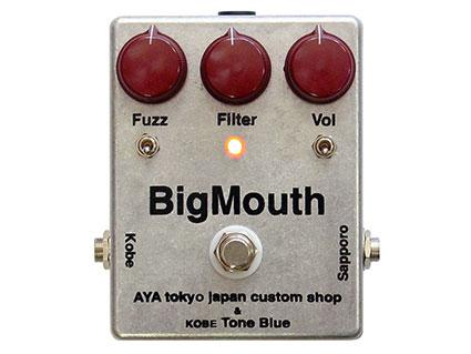 ファズ/ディストーション AYA tokyo japan custom shop & kobe Tone Blue BigMouth [送料無料!]