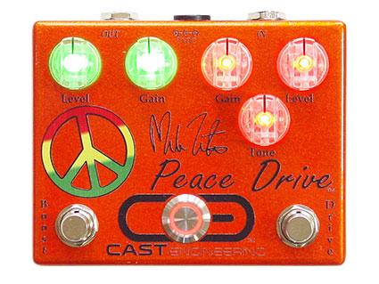 オーバードライブ/ブースター CAST Engineering Peace Drive [送料無料!]【smtb-TK】