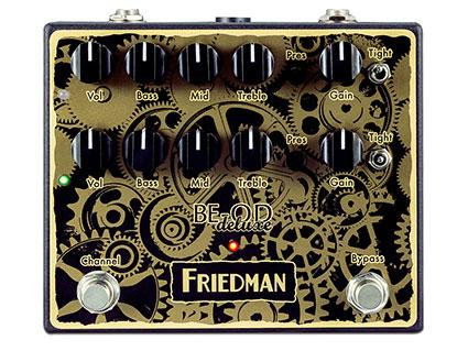 デュアル・オーバードライブ Friedman BE-OD Deluxe Clockworks Edition [送料無料!]【smtb-TK】