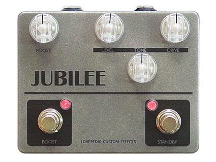 ディストーション+ブースター Lovepedal Jubilee Plus Boost [送料無料!]【smtb-TK】