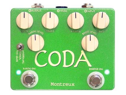 エフェクター Montreux CODA [送料無料!]【smtb-TK】