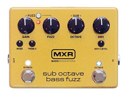 ベース用オクターブファズ MXR M287 Sub Octave Bass Fuzz [送料無料!]【smtb-TK】