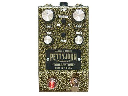 【半額】 オーバードライブ Pettyjohn Electronics Gold Gold Electronics Pettyjohn [送料無料!]【smtb-TK】, カヅノシ:5cfa9eb4 --- aqvalain.ru