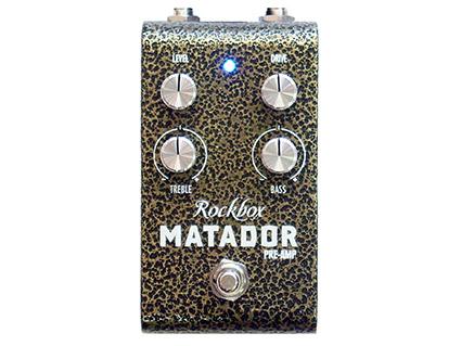 プリアンプ Rockbox MATADOR Preamp [送料無料!]【smtb-TK】