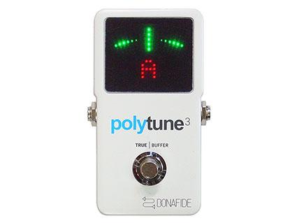 ポリフォニック/クロマチック・チューナー TC Electronic PolyTune 3 [送料無料!]【smtb-TK】