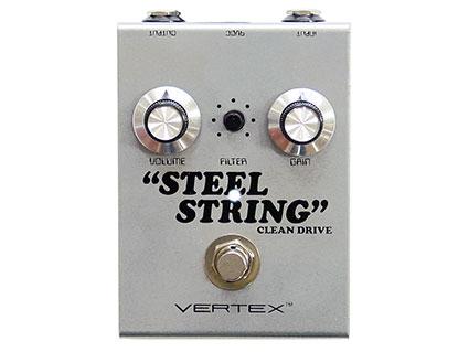 オーバードライブ/ブースター Vertex Effects Steel String Clean Drive [送料無料!]【smtb-TK】