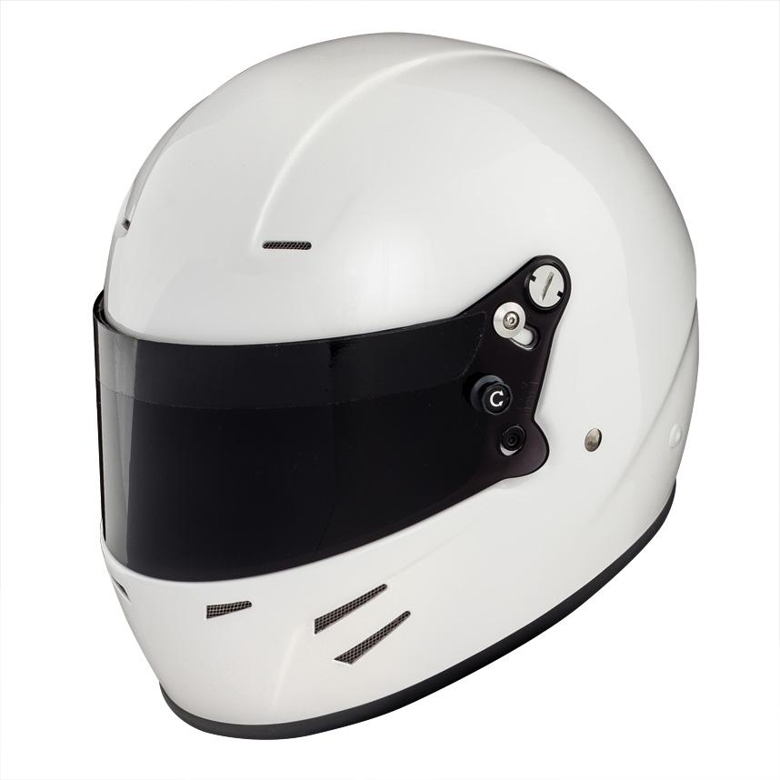 ☆【Race Safety Accessories】バイザーフォープロフルフェイスヘルメット ダークスモーク
