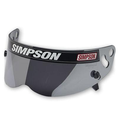 ☆【Simpson】ダイヤモンドヘルメットの交換用バイザー シルバーミラー