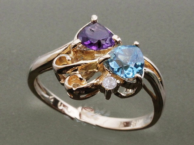 K18ファッションリング おしゃれリング 普段用の指輪 一点のみ 早い者勝ち 当店在庫セール 格安リング F5