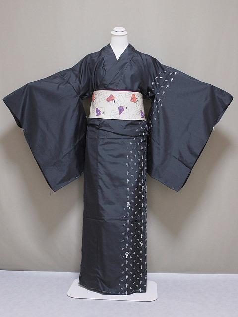 高級紬の訪問着 紬のきもの 未仕立 正絹紬の訪問着 格安紬の訪問着 当店在庫処分 T2156-2