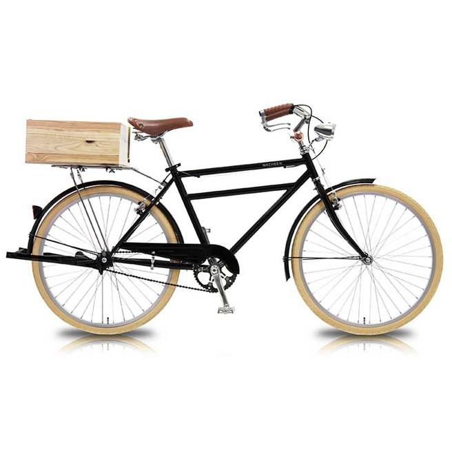 26インチ 自転車 Groot(グルート) WGC-2602 WACHSEN 【 デザイン おしゃれ 男女兼用 26インチシティバイク シティーバイク ご近所 チャリ ブラック 】 [直送品]