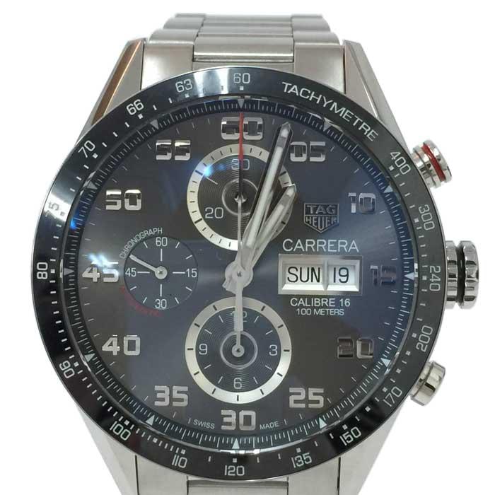 タグホイヤー TAG Heuer カレラ キャリバー16 クロノグラフ 腕時計 自動巻き CV2A1U BA0738 中古 美品