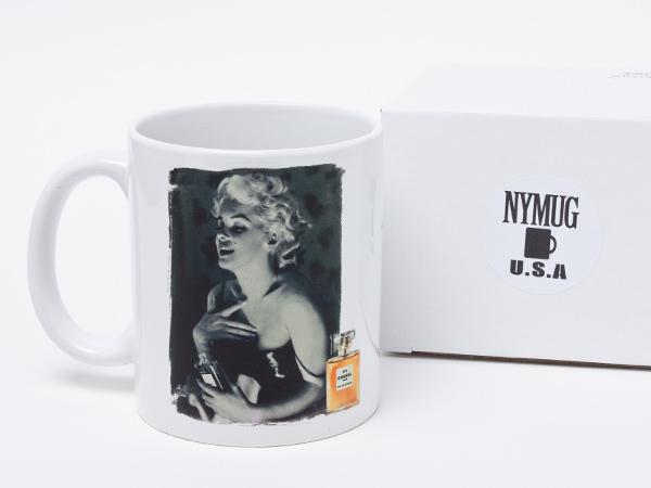 NYMUG マリリン・モンロー シャネル5番 マグカップ nymug-02お茶のふじい・藤井茶舗