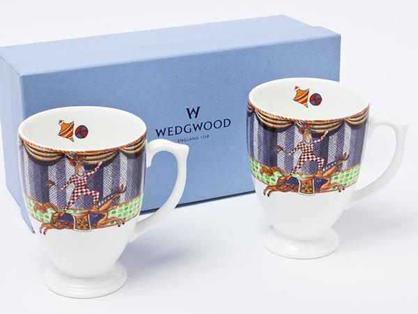 ウェッジウッド サーカス シリーズ CAROUSEL HORSE アクロバット ペアマグカップ wedg-65お茶のふじい・藤井茶舗