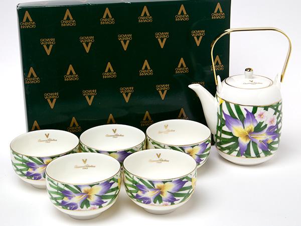 ジョバンニ ヴァレンチノ 土瓶茶器揃え 時間指定不可 valentino-03お茶のふじい 藤井茶舗 4年保証