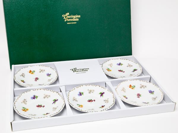 ライヒェンバッハ チューリンゲン 陶磁器 小皿5枚セット thuringian-02お茶のふじい・藤井茶舗