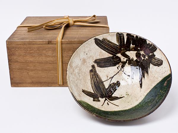 尾形周平 作 織部鉢 ogata-01お茶のふじい・藤井茶舗