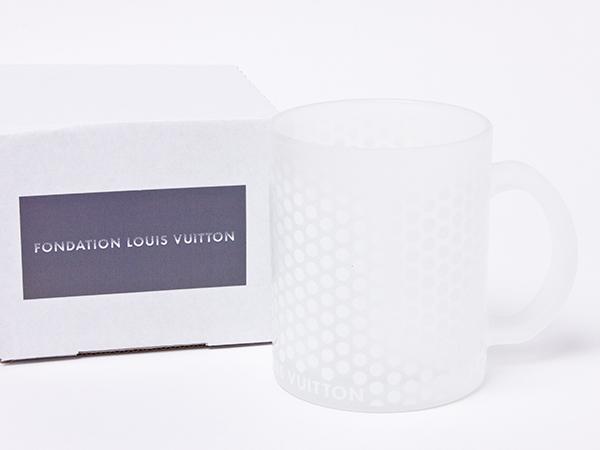 ファンダシオンルイヴィトン 美術館限定 グラスマグカップ vuitton-01お茶のふじい・藤井茶舗
