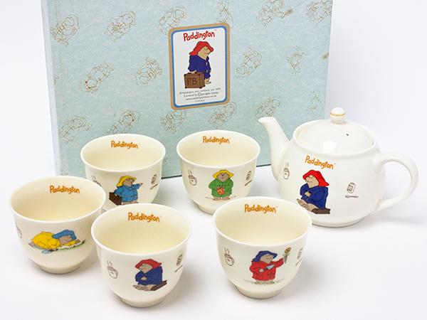 くまのパディトンベア ティーポット&カップ5客セット chakis-43お茶のふじい・藤井茶舗