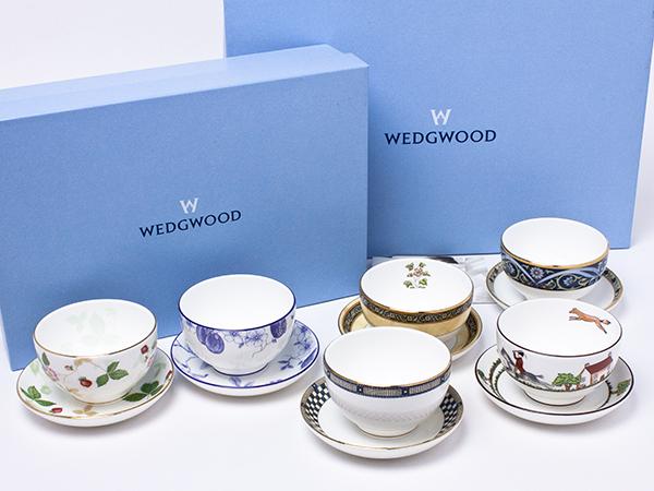 【送料無料】ウェッジウッド ティーセット サムライ・エレファント・ワイルドストロベリー・ハンティング・ブループラム・インディア wedg-79お茶のふじい・藤井茶舗