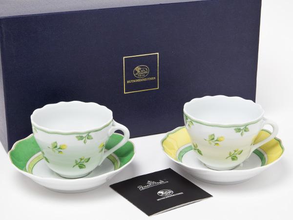 フッチェンロイター サマードリームペアティーカップ&ソーサーお茶のふじい・藤井茶舗