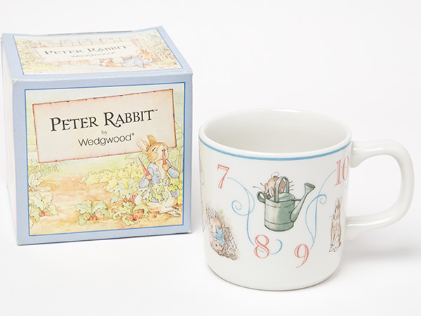 ウェッジウッド ピーターラビット 数字マグ・ラーニングシリーズお茶のふじい・藤井茶舗