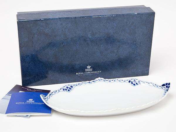 【送料無料】ロイヤルコペンハーゲン プリンセスブルー オーバルディッシュプレートお茶のふじい・藤井茶舗