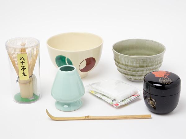 手付き茶箱セット(内容のみ)4-3お茶のふじい・藤井茶舗