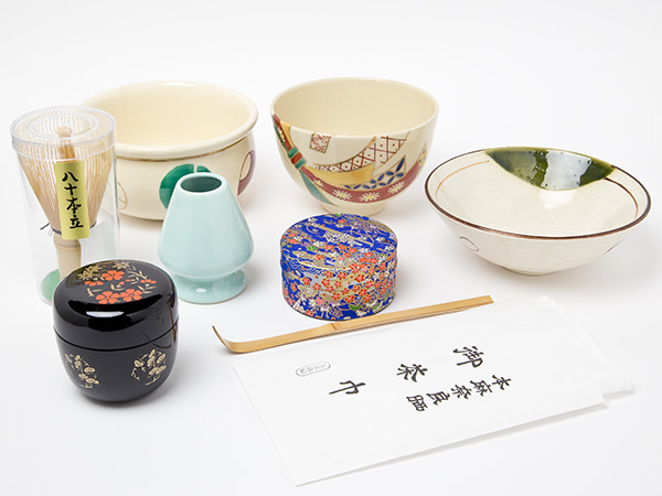 違い飾り棚セット(内容のみ)4-2お茶のふじい・藤井茶舗