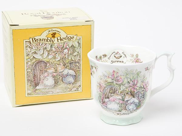 ロイヤルドルトン ブランベリーヘッジSUMMERマグカップお茶のふじい・藤井茶舗:お茶のふじい