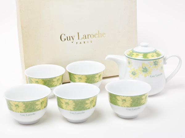 ギラロッシュGuy Larocheカップ5客 ポットセット823Aお茶のふじい・藤井茶舗