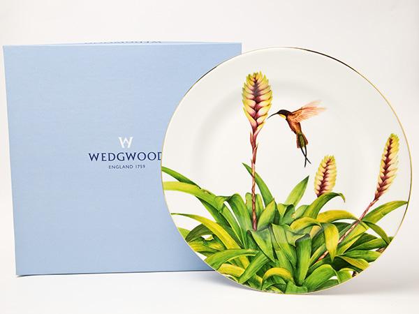 ウェッジウッド ボタニカルコレクション サイジングアップ2003 プレートお茶のふじい・藤井茶舗