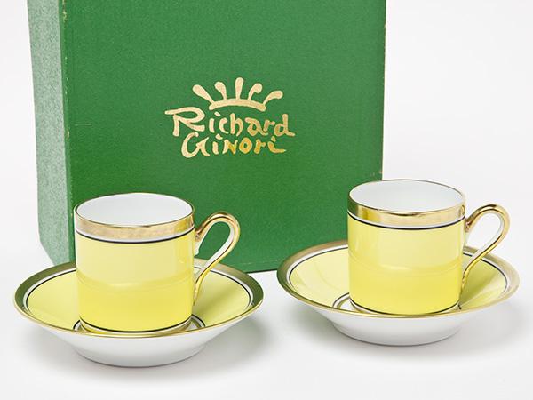リチャードジノリ コンテッサエスプレッソデミカップ&ソーサー お茶のふじい・藤井茶舗