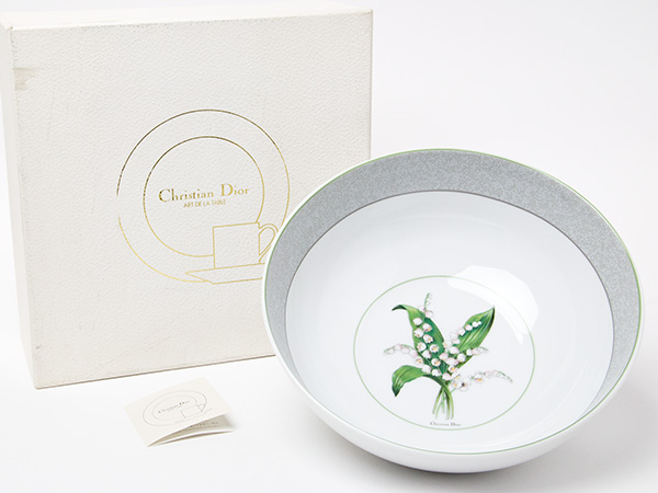 【送料無料】クリスチャンディオール ミリラフォーレ サラダボール お茶のふじい・藤井茶舗