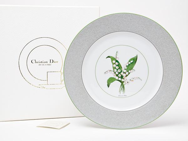 クリスチャンディオール26cmディナー皿 お茶のふじい・藤井茶舗