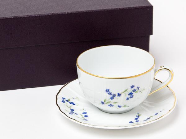 ベルナルド/ Bernadoaud ティーカップ&ソーサー (わすれな草) bernadoaud-2お茶のふじい・藤井茶舗