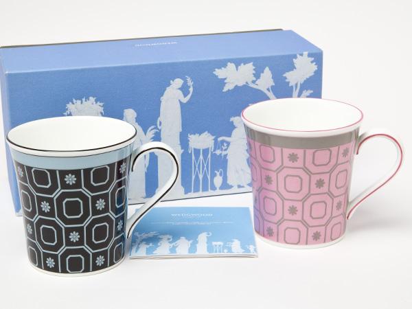 ウェッジウッド パラディオPink&Blue ペアマグ お茶のふじい・藤井茶舗