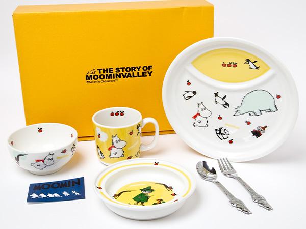 【送料無料】ムーミン子供食器6ピースセット お茶のふじい・藤井茶舗