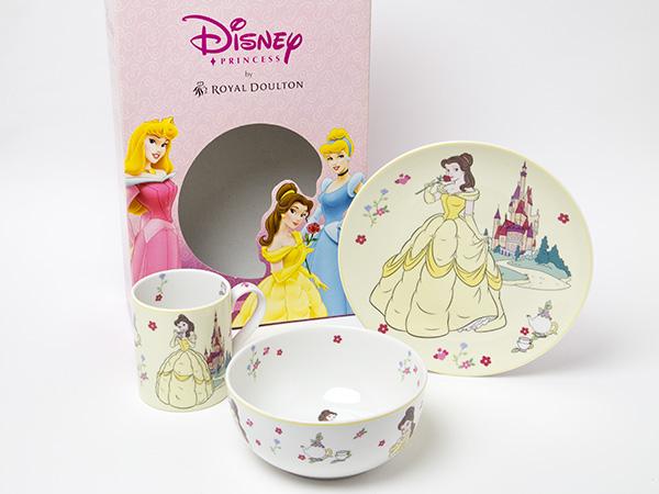 ロイヤルドルトン ディズニー プリンセス ベル 食器3点セットお茶のふじい・藤井茶舗