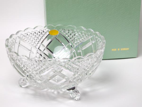 MIKIMOTO ミキモトインターナショナル クリスタルカットサラダボウルお茶のふじい・藤井茶舗