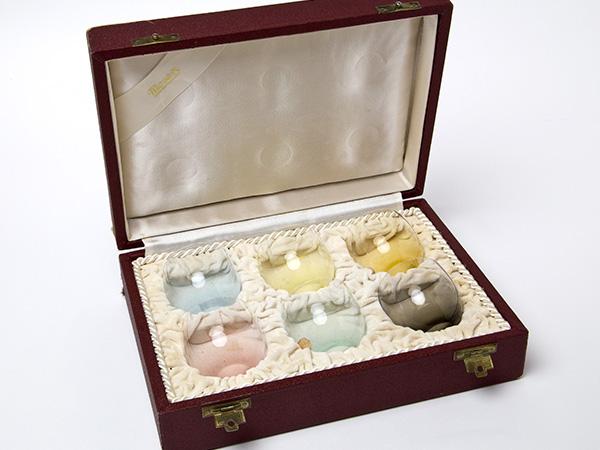 Moser モーゼル クリスタル ボヘミアガラスの最高峰 リキュールラウンドグラス カラー6種6客お茶のふじい・藤井茶舗