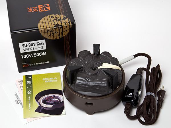 【送料無料】炭型電熱器 500W B型(裏千家好み)お茶のふじい・藤井茶舗