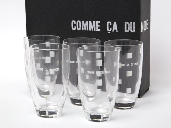 COMME CA DU MODE コムサデモード タンブラーグラス5客セットお茶のふじい・藤井茶舗