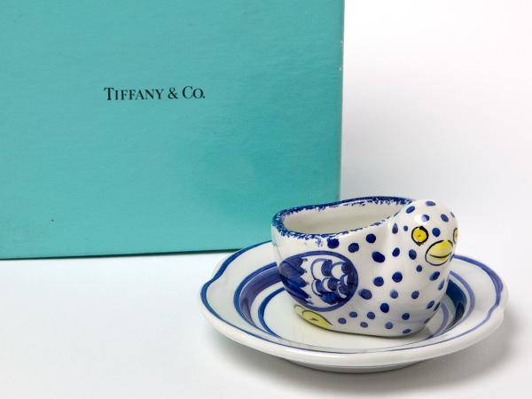 ティファニー エッグスタンド 可愛い小鳥モチーフお茶のふじい・藤井茶舗