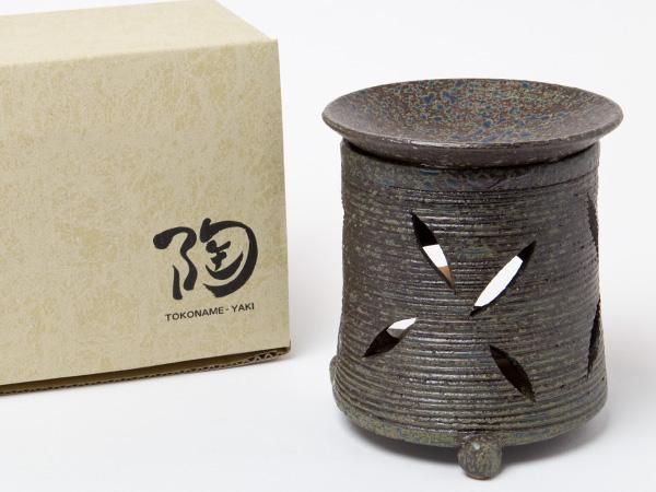 茶香炉 灰釉 富士型 エ1215お茶のふじい・藤井茶舗